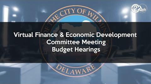 Virtual Finance & Economic Development Committee Meeting Budget Hearings | Real Estate and Housing