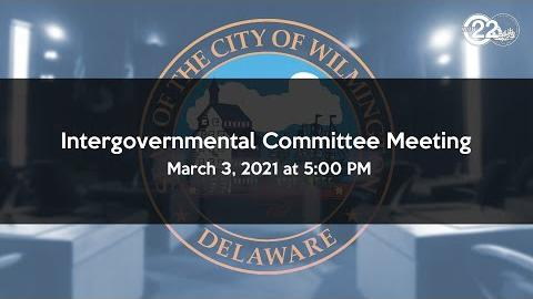 Virtual Intergovernmental Committee Meeting 03/03/21