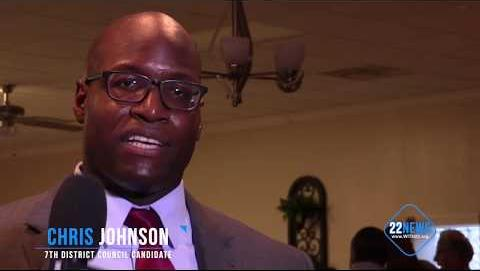 7th District Council Candidate Chris Johnson