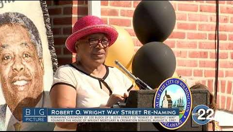 Big Picture: Robert O Wright I. Way Street Re Naming