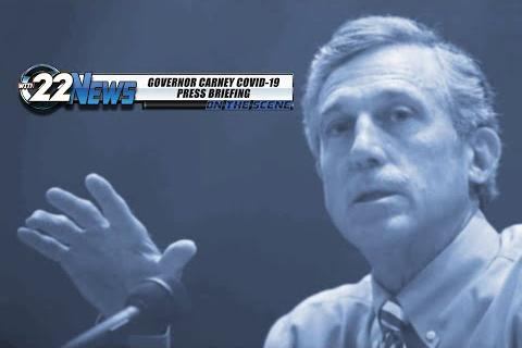 WITN 22 News On the Scene | Governor Carney COVID-19 Press Briefing | October 27th, 2020