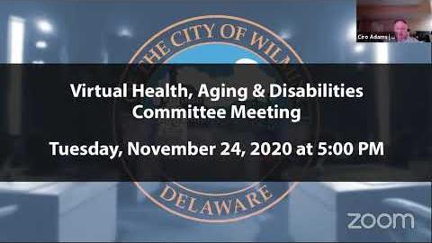 Health, Aging & Disabilities Committee Meeting